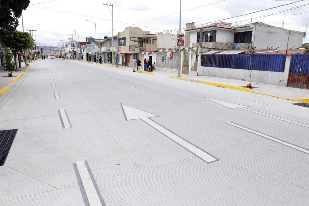 vialidad tepeaca avenida