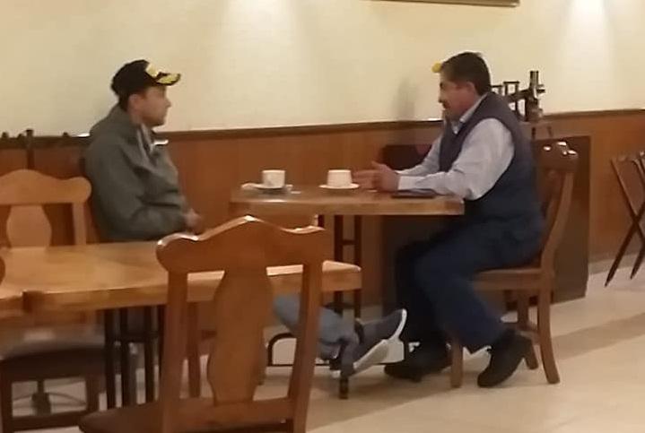 victor Leon edgar salomon reunion secreta