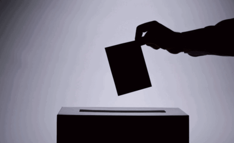 voto casilla mano